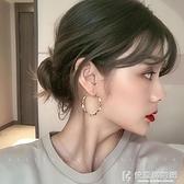 戒指系列 純銀針耳圈時尚耳環韓國氣質網紅圓圈個性簡約冷淡風耳墜女耳飾 快意購物網