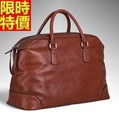 行李袋-肩背歐美時尚真皮大容量男手提包66b17【巴黎精品】