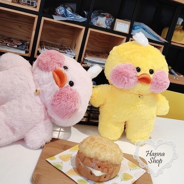 《花花創意会社》外流。超可愛玻尿酸鴨鴨毛絨療癒玩具娃娃 有兩色【H6814】