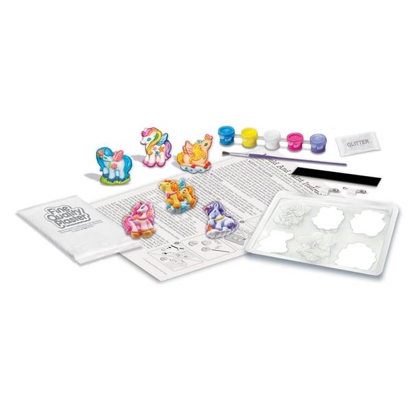 《4M美勞創作》彩虹獨角獸磁鐵  Mould & Pain Unicorns ╭★ JOYBUS玩具百貨