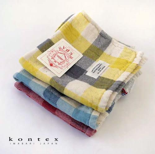 【クロワッサン科羅沙】日本今治~Kontex有機灰格方巾