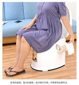 老人坐便器孕婦移動馬桶老年人坐便椅成人便攜家用塑料座便器防臭 英雄聯盟IGO