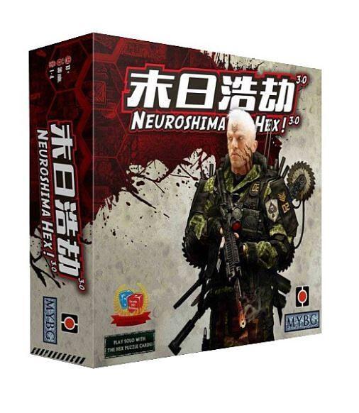 『高雄龐奇桌遊』 末日浩劫 Neuroshima Hex 3.0 繁體中文版 正版桌上遊戲專賣店
