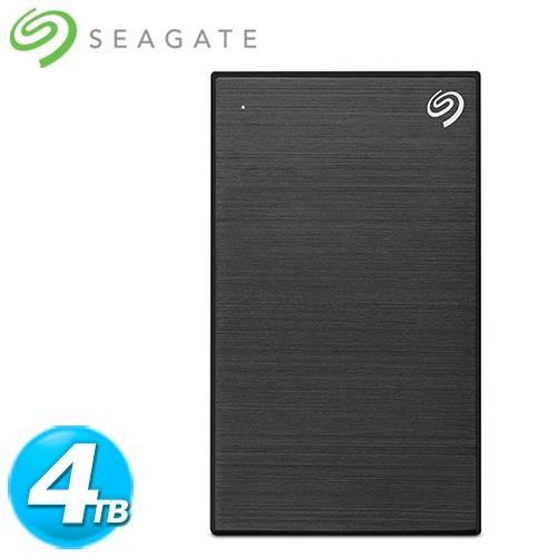 Seagate希捷 Backup Plus Por 2.5吋 4TB 極夜黑(STHP4000400)