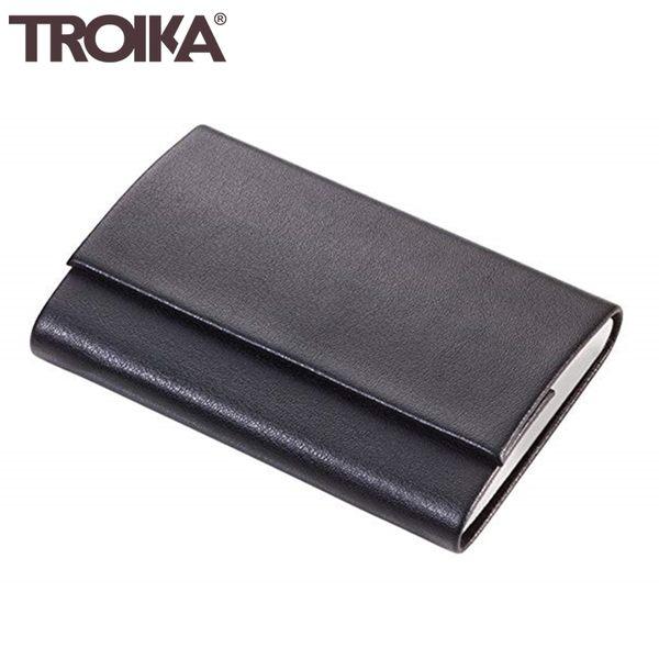 又敗家@德國TROIKA防盜信用卡夾CCC05防感應錢包電子錢包防RFID夾防NFC夾防側錄夾多功能名片夾