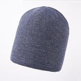 羊毛毛帽-點點提花捲邊包頭男針織帽4色73wj43【時尚巴黎】