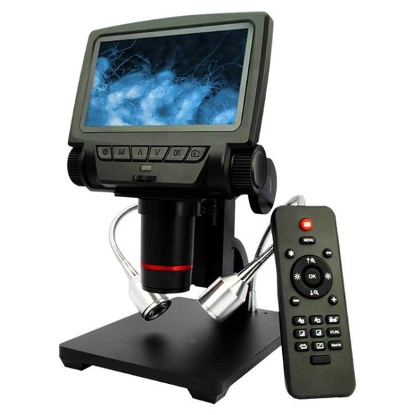 顯微鏡 高清帶屏1200萬HDMI數碼電子顯微鏡手機維修電路板PCB焊接放大鏡 WJ【米家科技】