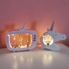 透明存錢罐帶燈擺件 創意可愛儲蓄罐DF
