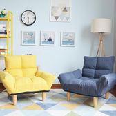 布藝沙發小戶型現代簡約歐式單人沙發椅日式客廳整裝迷你北歐沙發     韓小姐の衣櫥