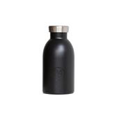 義大利 24Bottles 不鏽鋼雙層保溫瓶330ml - 紳士黑