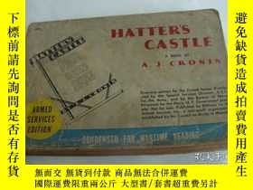 二手書博民逛書店(Armed罕見services edition) HATTER S CASTLE:A novel by A.J.