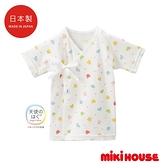 MIKI HOUSE BABY 日本製 天使的擁抱可愛動物新生兒紗布衣