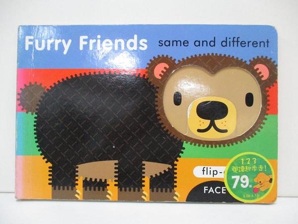 【書寶二手書T1/少年童書_DRU】Furry Friends: Same and Different_Ziefert, Harriet/ Sami (ILT)