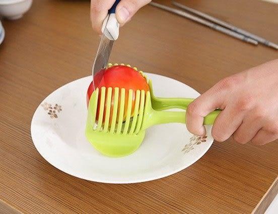 檸檬番茄切片夾子 / 廚房水果分割夾 (不挑色)