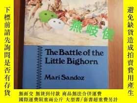 二手書博民逛書店The罕見Battle of the Little Bighor