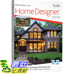 2019 美國暢銷軟體 Chief Architect Home Designer Suite 2019 (Download) 下載版