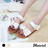 涼鞋 雙扣帶造型涼鞋 MA女鞋 T2116
