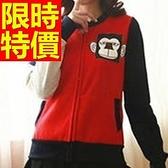 棒球外套女夾克-保暖棉質亮麗隨意美觀美式風休閒典型3色59h124[巴黎精品]