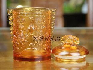 琉璃茶葉罐