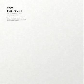 EXO 第三張正規專輯 EX'ACT 中文台壓版 Lucky One ver版 CD (音樂影片購)