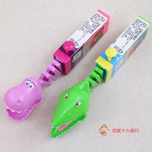 台灣零食恐龍鉗(附糖果)18g_12入/盒【0216零食團購】4893139586202-B