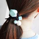 簡約壓克力菱形珍珠髮束 髮繩 ACE0024