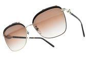 BVLGARI 太陽眼鏡 BG6112B 278-13 (琥珀金-漸層棕鏡片) 復古年代造型款 墨鏡 # 金橘眼鏡