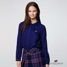 綁帶領造型襯衫 Scottish House【AB1358】