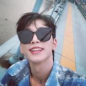 明星同款墨鏡男士復古韓版潮太陽鏡偏光開車司機個性黑色街拍眼鏡 小時光生活館