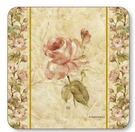 古董織物玫瑰 Antique Rose Linen 六入杯墊