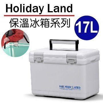 [家事達]HD- 日本伸和假期冰桶-白-17L [原裝進口] 保冰 釣魚 冰桶 冰磚 冷藏箱 保冰包 保冷劑