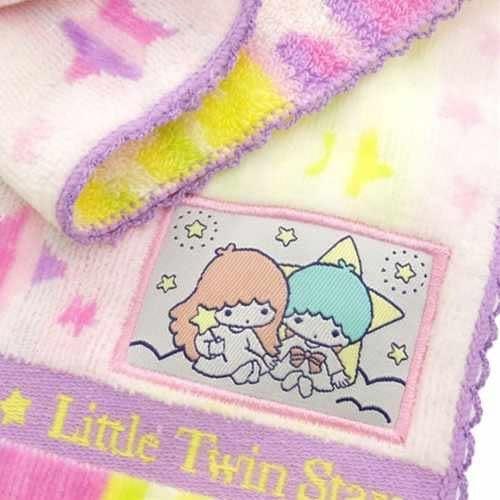 KIKILALA 雙子星 經典粉嫩圖案棉質小方巾/毛巾/手帕 該該貝比日本精品 ☆