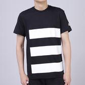 Adidas UH SS TEE GFX 男 黑 白 經典休閒短袖上衣 短t 棉質 透氣 TEE 愛迪達 T恤 CF6919