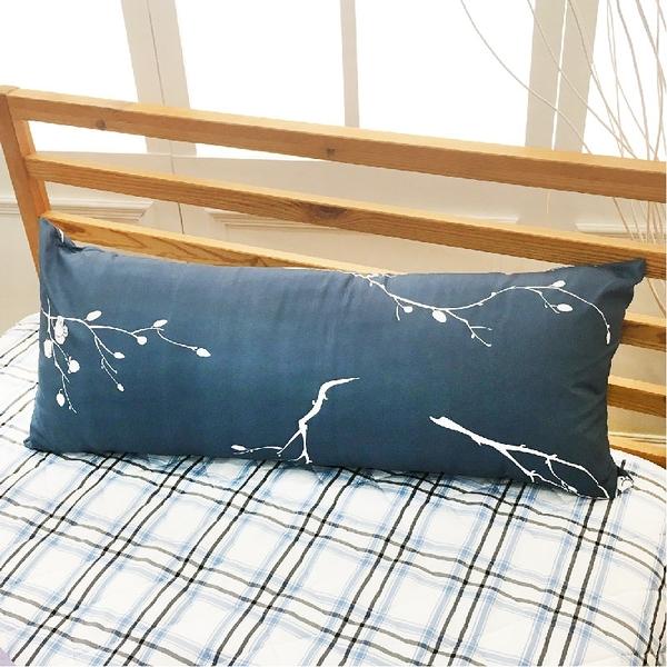 長抱枕、靠枕-三尺【暗香】 長枕、可拆洗、A級空心棉、寢居樂台灣製