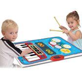 兒童寶寶爵士架子鼓電子琴鋼琴毯早教益智音樂女孩男孩玩具初學者 年終尾牙交換禮物