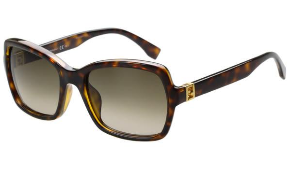 FENDI -時尚太陽眼鏡 (玳瑁色)