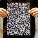 《凱斯哈林特展》經典圖案L型資料夾