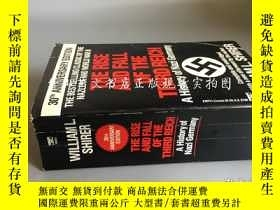二手書博民逛書店the罕見rise and fall of the third Reich:a history of Nazi G