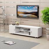 簡易電視機櫃簡約現代臥室客廳小戶型組合儲物櫃組裝迷你地櫃限時八九折