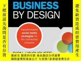 二手書博民逛書店Social罕見Business By Design: Transformative Social Media S