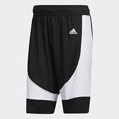 Adidas 男款黑色透氣運動短褲-NO.FR9442