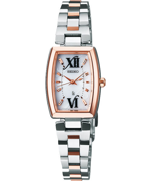 2012耶誕特別推薦款 SEIKO 精工 LUKIA 優美愛戀經典手錶 V117-0CD0KS(SSVR118J)