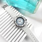 SEIKO 精工 / 4R35-04Z0H.SRPG59K1 / PROSPEX 愛海洋 企鵝漫步 機械錶 鮪魚罐頭 矽膠手錶 淡藍色 43mm