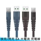 【妃航】GogoPhone iPhone/Micro/Type-C 2M/6A 快充 耐彎折 傳輸/充電線