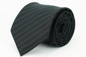 【Alpaca】黑色寬紋領帶