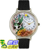 [美國直購 ShopUSA] Whimsical Watches Unisex Panda Bear in Silver U0150017 $2163