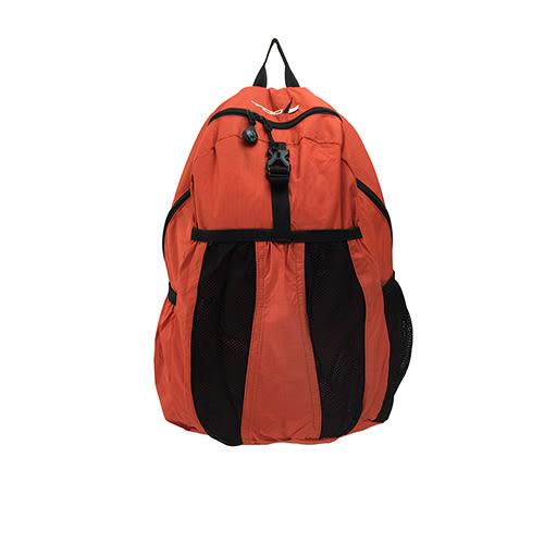 LIKA夢 TOOLS圖爾 繽紛色彩 運動型無重力太空包、後背包、旅行包 日本橘