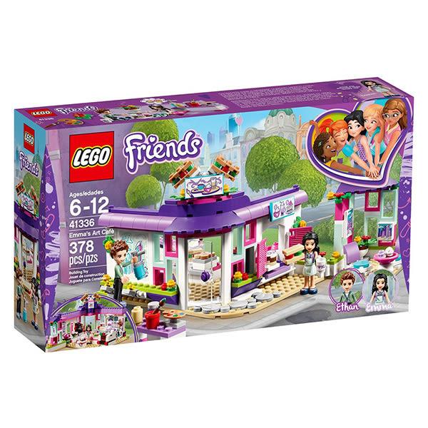 樂高積木LEGO Friends系列 41336 艾瑪的藝術咖啡廳