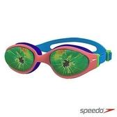 【線上體育】SPEEDO 兒童泳鏡 Holowonder 藍/橘