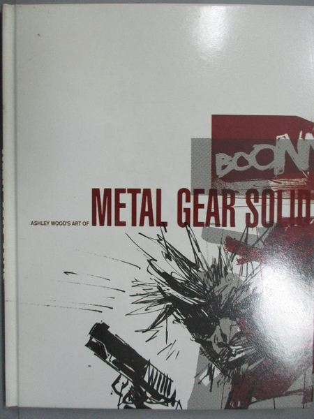 【書寶二手書T9/藝術_ZCC】Ashley Wood's Art of Metal Gear Solid_Wood,
